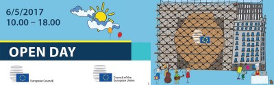 6 May Open Day - Council and European Council, Brussels, Belgium